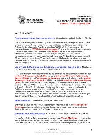 Jul 12, 2012 3:12:00 PM - Tecnológico de Monterrey