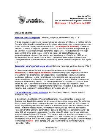 Jan 12, 2012 12:38:34 PM - Tecnológico de Monterrey