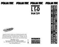 LED - FOLIATEC®.com
