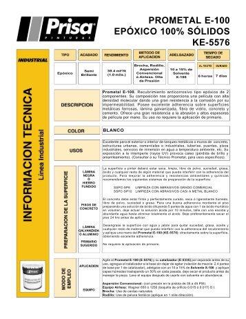 H tec E-5576 Prometal E-100.p65