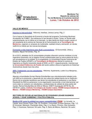 Oct 1, 2012 11:25:57 AM - Tecnológico de Monterrey