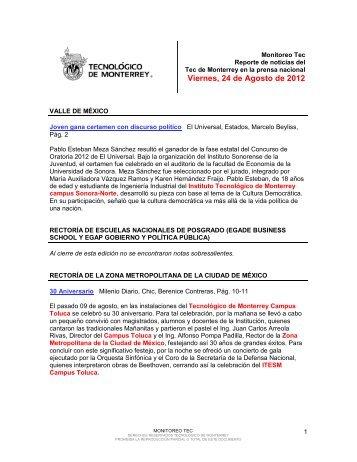 Aug 24, 2012 3:08:32 PM - Tecnológico de Monterrey