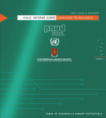 informe sobre capacidad tecnologica - Desarrollo Humano en Chile