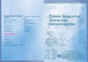 Cómo negociar licencias tecnológicas