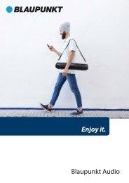Blaupunkt - Catalogue Audio