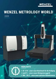 WENZEL-Metrology-World-2020-DE