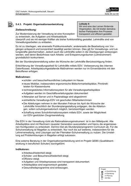 Schulprogramm 2006 als Download - OSZ Lotis Berlin