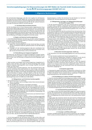 Versicherungsbedingungen für ... - Pferd & Reiter