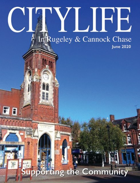 Citylife in Rugeley and Cannock Chase June 2020