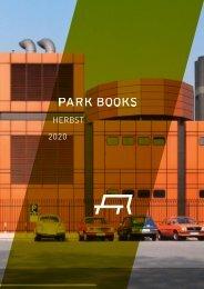 Park Books Vorschau Herbst 2020