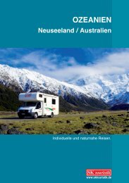 OZEANIEN Neuseeland / Australien - SK Touristik