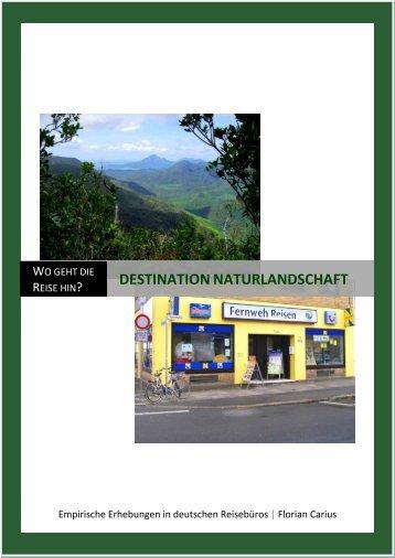 Destination Naturlandschaft - Bundesamt für Naturschutz