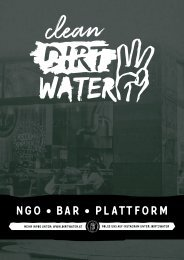 DirtWater Nachtkarte NGO / BAR / Plattform (Mai 2020)