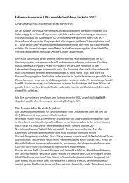 Informationen zum LSF-Anmelde-Verfahren im ... - Fachschaft 04