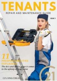 Maintenance Guide for Tenants