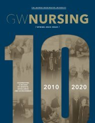 GW Nursing Magazine Spring 2020