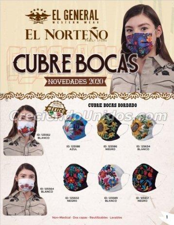 #723 Cubre Boca, Mascarillas de Tela, Tapa Boca de Tela, Mascarillas Reutilizables, Precios de Mayoreo