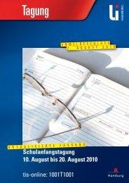 pädagogisch theologisches institut - Landesinstitut für Lehrerbildung ...