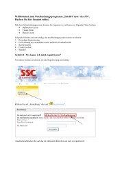 """Willkommen zum Platzbuchungsprogramm """"Intelli-Court"""" des SSC ..."""
