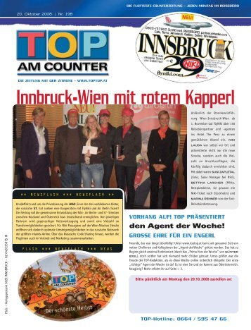 Innbruck-Wien mit rotem Kapperl - top am counter