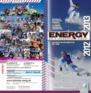 ENERGY MOMENTS - Ski- und Snowboardschule ENERGY
