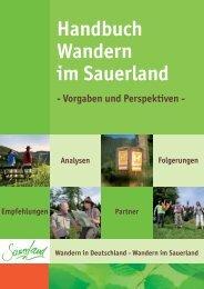 Dem Wald zuliebe! - Sauerland-Tourismus