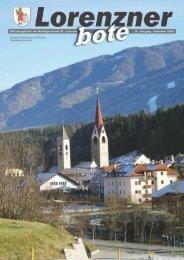Lorenzner Bote - Ausgabe Dezember 2008 (5,86 MB