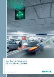 """Intelligente Lösungen für das Thema """"Parken"""" - Siemens Mobility"""