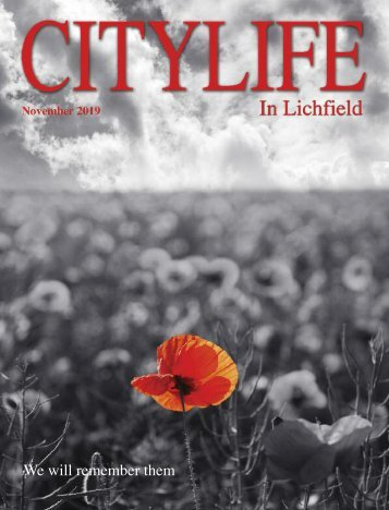 Citylife in Lichfield November 2019