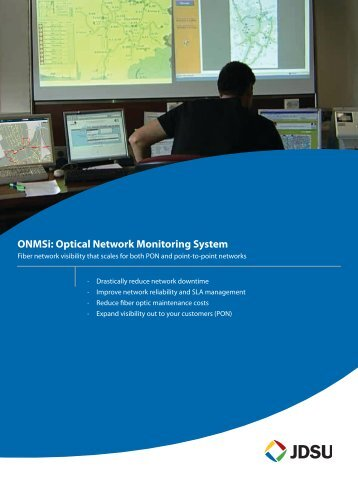 ONMSi: Optical Network Monitoring System - JDSU