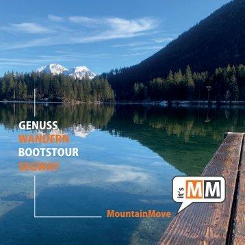 Erlebniswelt Berge