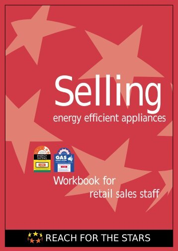 Workbook for retail sales staff - Energy Labelling