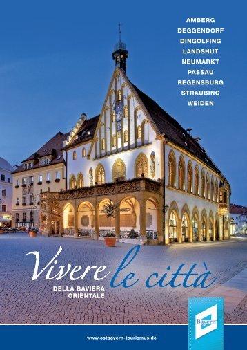 Le città della Baviera Orientale