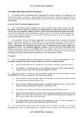 International Visits Control Office Guidance Notes for MOD List X ... - Page 5