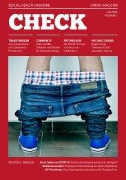 CHECK Magazine - Sexual Health Magazine - Ausgabe #1