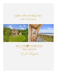 6210 Cape George Rd. Port Townsend