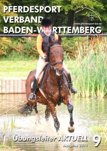 Ausgabe 09/2011 - Verband der Pferdesportvereine Nordbaden