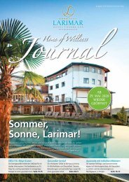 Larimar Journal Frühling Sommer 2020