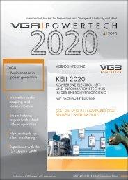 VGB POWERTECH Issue 4 (2020)
