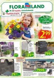 Floraland- Ihr hagebau Gartenfachmarkt 22.5.2020