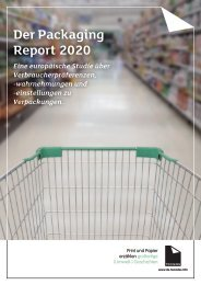 European Packaging Preferences Survey by Two Sides - March 2020 DE