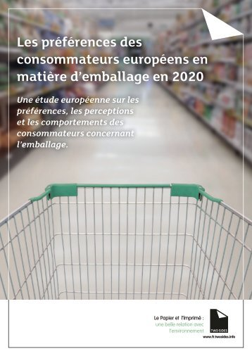 European Packaging Preferences Survey March 2020 Two Sides FRA