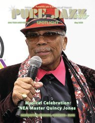 PJM Newsletter  Quincy Jones -May