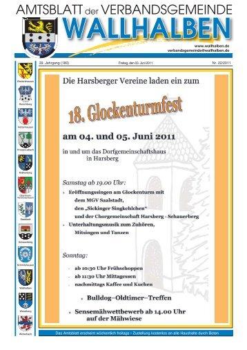 amtliche mitteilungen - Verbandsgemeinde Wallhalben