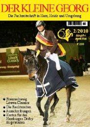 Fairer Pferdesport - Der Kleine Georg