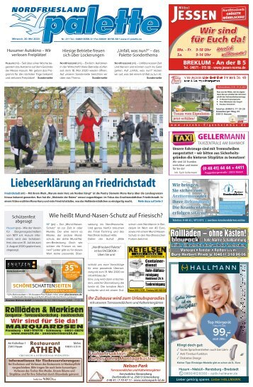 Nordfriesland Palette 21 2020
