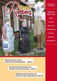 Unser Rietberg Ausgabe 04 vom 20. Mai 2020