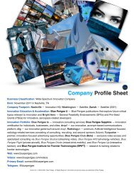 Company Profile Sheet