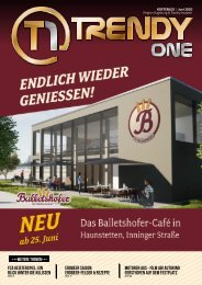 TRENDYone | Das Magazin – Augsburg – Juni 2020