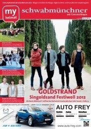 GOLDSTRAND Singoldsand Festiwell 2012 - MH Bayern